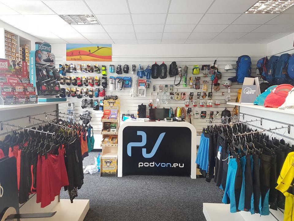 Predajňa Poď Von ponúka špecializovaný sortiment na outdoorové športy