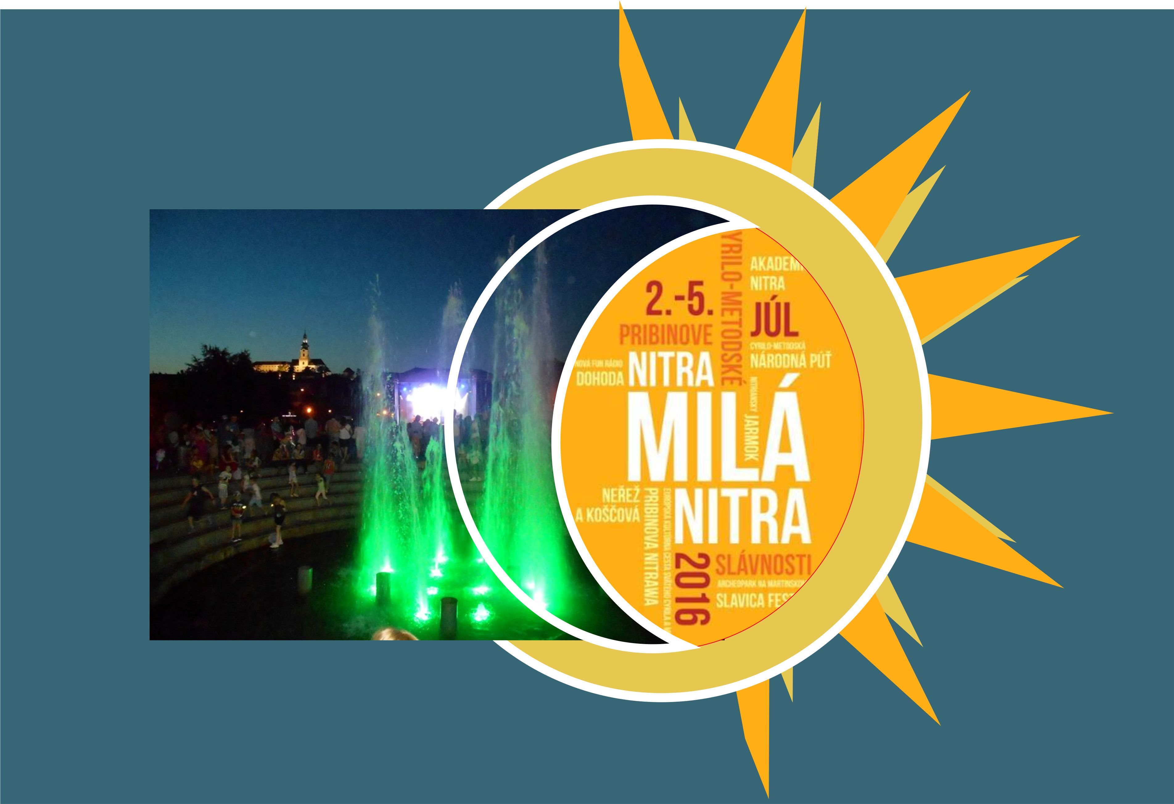 39f6293bf Aj tento rok sa môžu obyvatelia Nitry tešiť na jednu z najväčších udalostí  roka - na mestské slávnosti Nitra, milá Nitra. Každý rok sa tešia obrovskej  ...